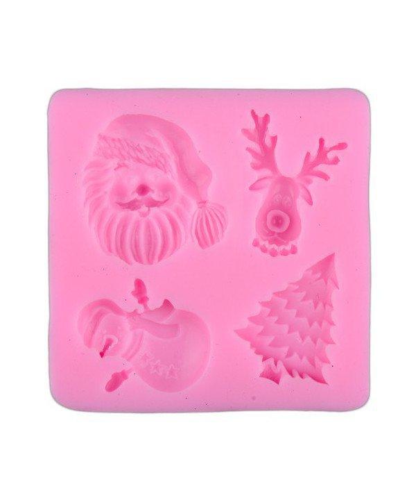 Stampo natalizio in silicone