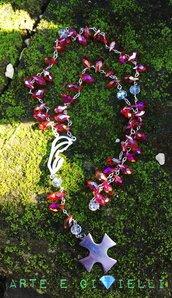 Collana rosario cristalli