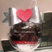 Sfere natalizie - palline - albero- personalizzate con foto