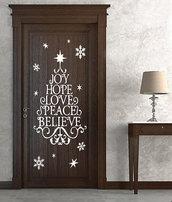 Albero adesivo Love Peace