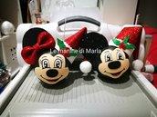 Sfere natalizie Minnie e Topolino