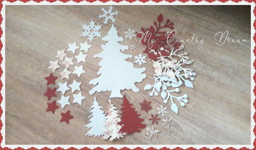 """Christmas Set """"Romantic Christmas"""""""