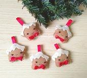 Biscotti di Natale in fetro, decorazioni albero, palline albero, decorazioni feltro, ghirlanda Natale, stelle Natale, biscotti feltro