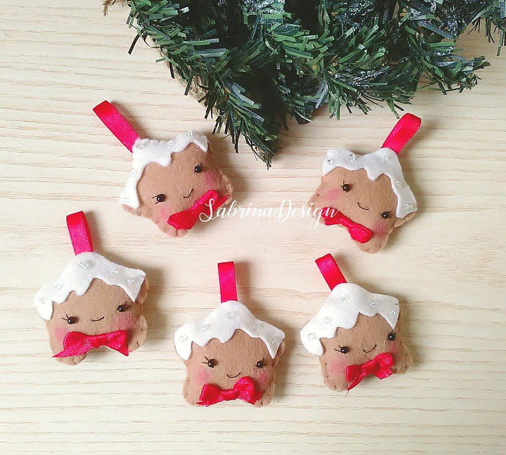 Biscotti Decorati Per Albero Di Natale.Biscotti Di Natale In Fetro Decorazioni Albero Palline Albero De