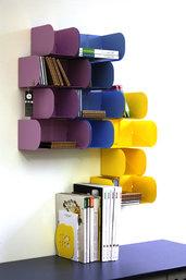 MODULO 72 CD - Porta cd, organizer modulare da parete - medio (Caoscreo)