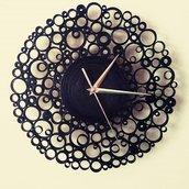 Orologio Nero di Carta