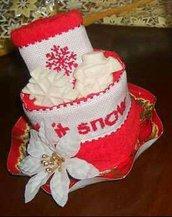torta di asciugamani