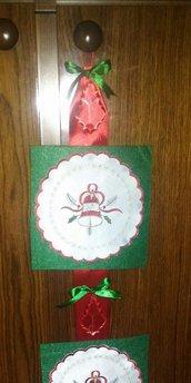 striscione fuoriporta natalizio