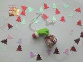 """🎄 Collana """"Grinch"""" che odia il Natale"""