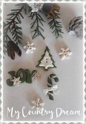 "Bottoni Artigianali ""Christmas"""