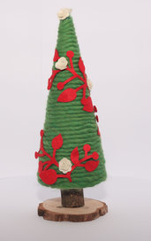 Albero di Natale in lana