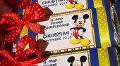 Tavolette di cioccolata personalizzate Topolino  battesimo compleannno festa comunione