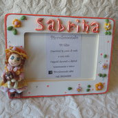"""portafoto """"dolci bambole"""" personalizzato"""