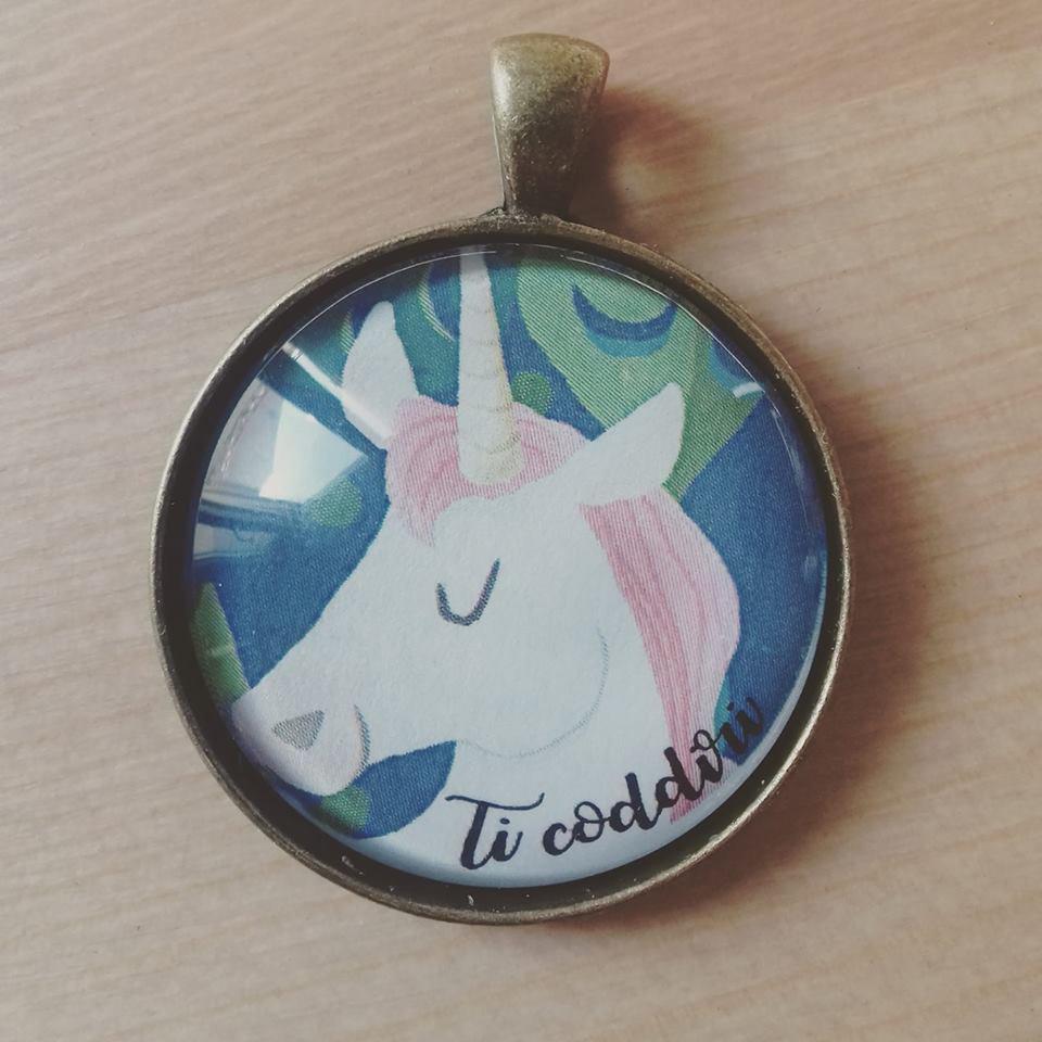Collana unicorno Ti Coddiri