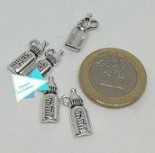 Ciondolo argento tibetano biberon PFF008