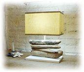 CHIARA lampada con legni di mare, bois flotté, driftwood, treibholz,madera de mar