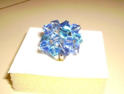 """Anello """"  w l'azzurro """""""