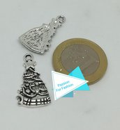 Ciondolo argento tibetano albero di Natale N026