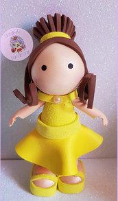 Mini fofucha Belle