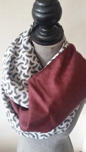 sciarpa scialle in pura seta e pura lana