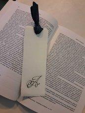 Segnalibro in pergamena personalizzato