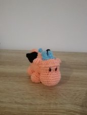 Drago all'uncinetto amigurumi