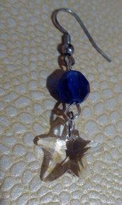 orecchini  ... stella marina i colori del mare