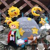 Fuoriporta Famiglia - il piccolo principe - personalizzato