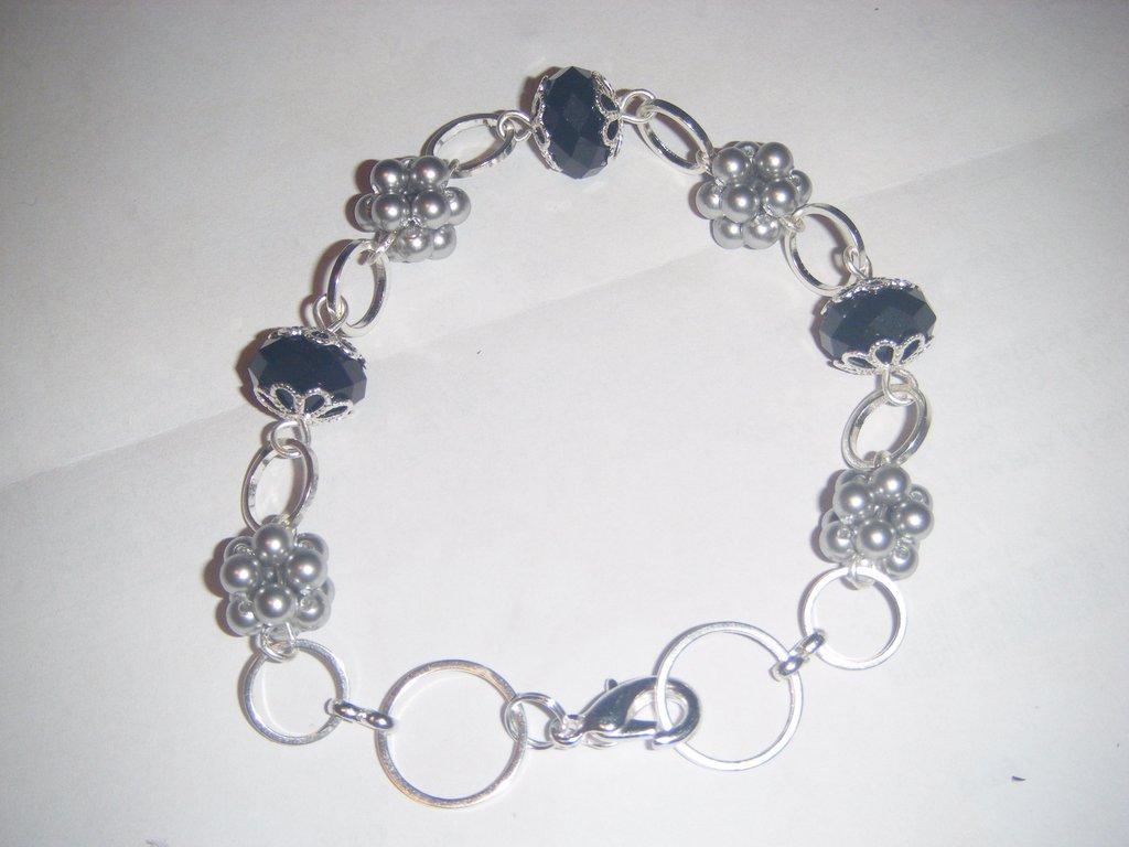 Bracciale perle e cipolle Swarovski
