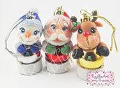 "Palline Natale ""Christmas Trio"" – mod. 1"