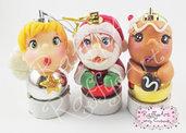 "Palline Natale ""Christmas Trio"" – mod. 2"