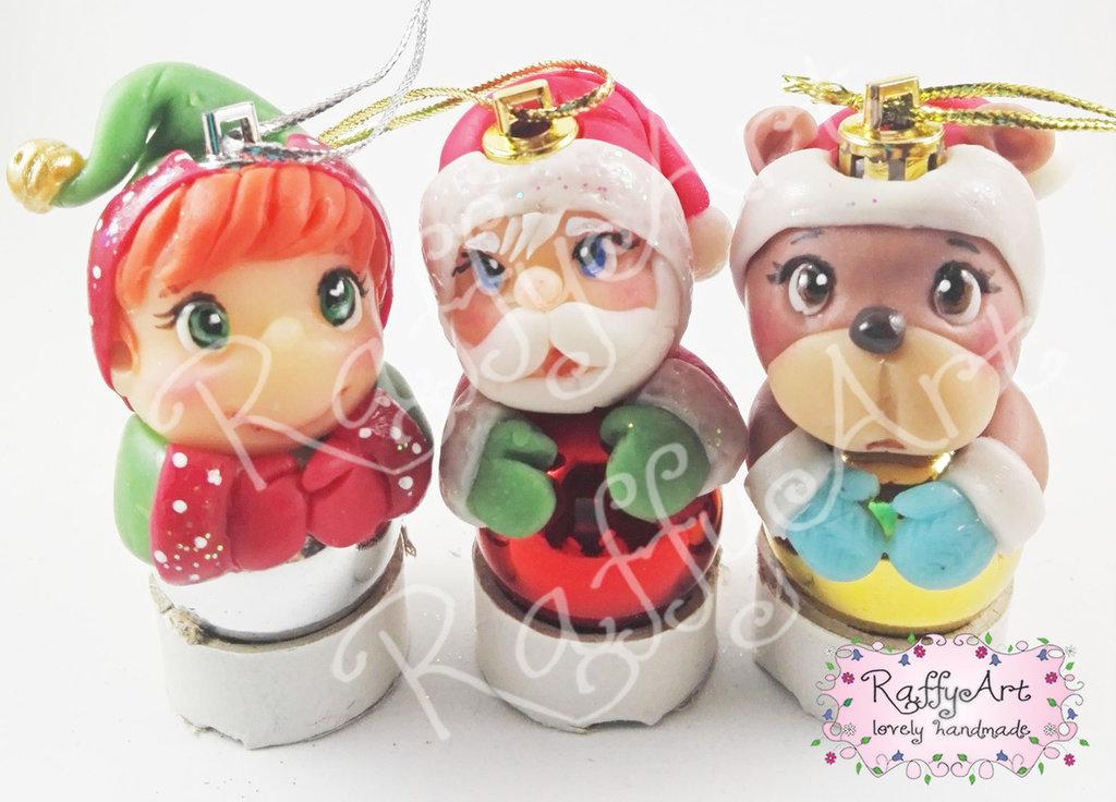 "Palline Natale ""Christmas Trio"" – mod. 3"
