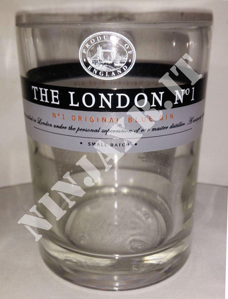 Vaso da arredo Bottiglia Gin The London N°1 riciclo creativo riuso arredo idea regalo
