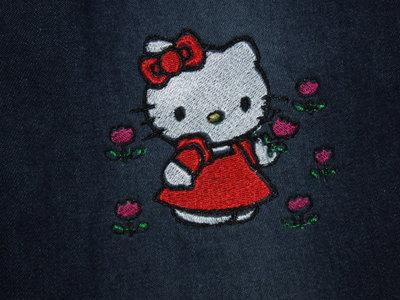 pantaloni jeans,Hello Kittyl