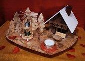 Villaggio in legno cuore