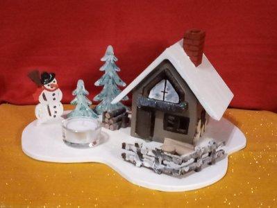 Villaggio pupazzo neve