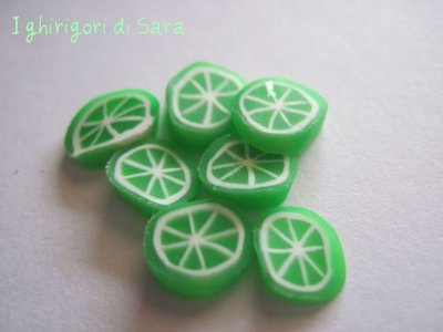 Murrine lime