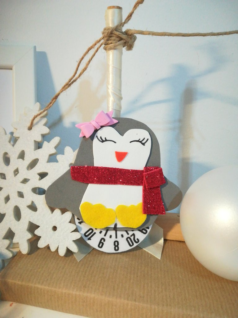 Disco orario  Idea regalo economica Natale Inverno Gomma crepla