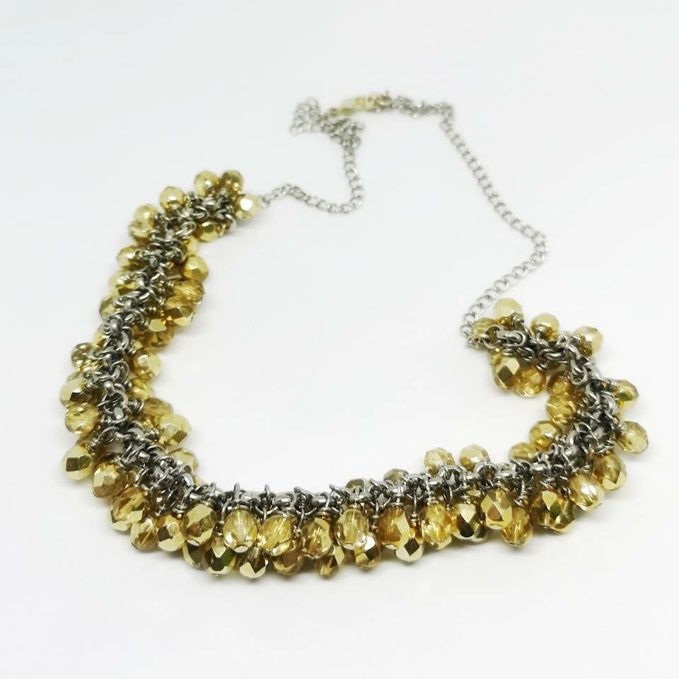 Collana grappolo - Gold