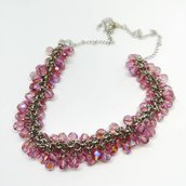 Collana grappolo - Pink