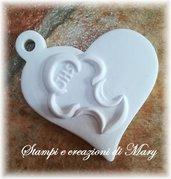 Stampo cuore comunione calice in silicone