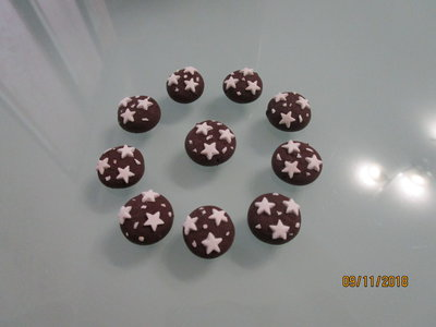 Charms in fimo pan di stelle