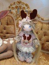 Bambola renna alice