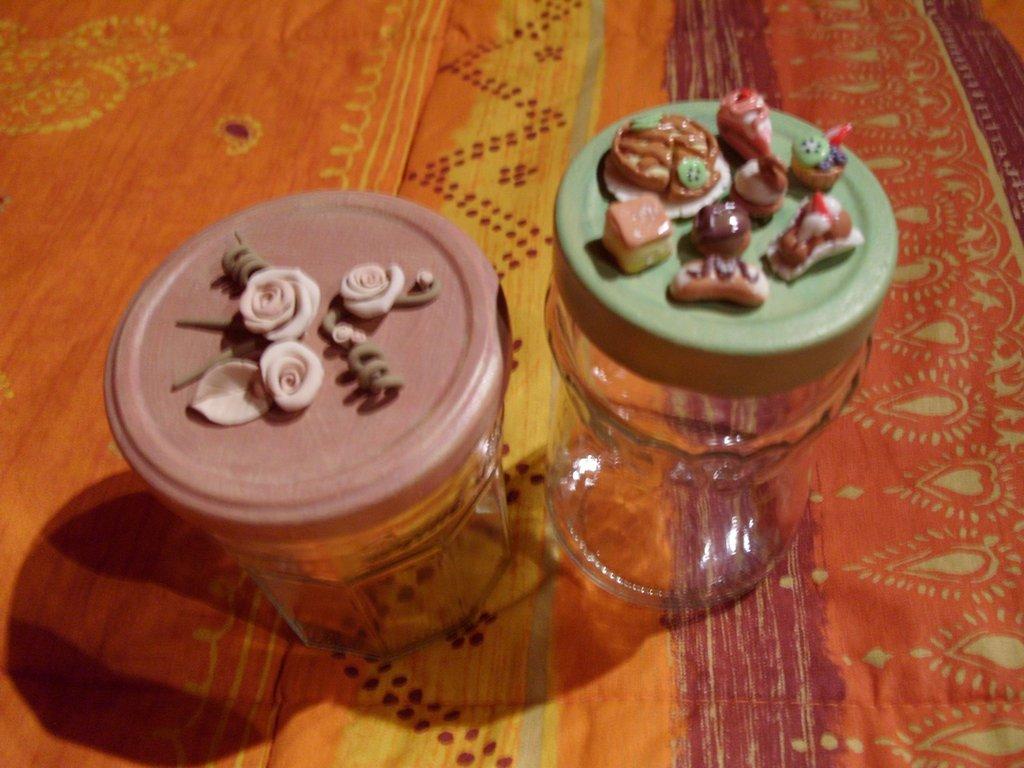 Zuccheriere rose e pasticceria mignon