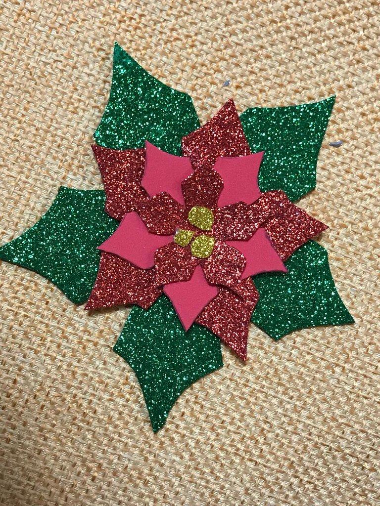 Decorazione di Natale con magnetino