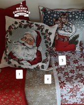 Centrotavola natalizio rettangolare in 6 fantasie