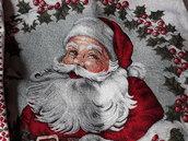 Federe natalizia Babbo Natale