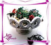 Porta caramelle / svuotatasche natalizio