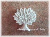 Stampino albero della vita mini in gomma siliconica da colata
