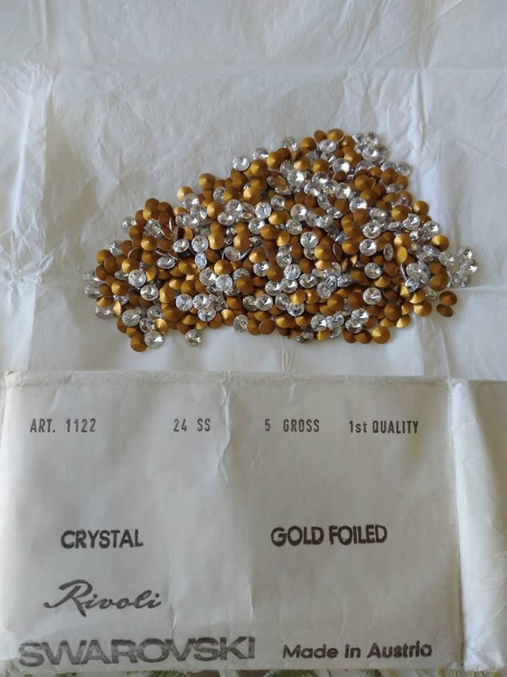 RIVOLI 1122 SS 24, 5mm, CRISTALLO Cristalli Swarovski